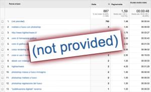 Dati della ricerca di Google criptati