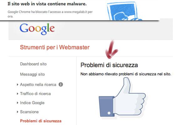 Webmaster Tools per la sicurezza