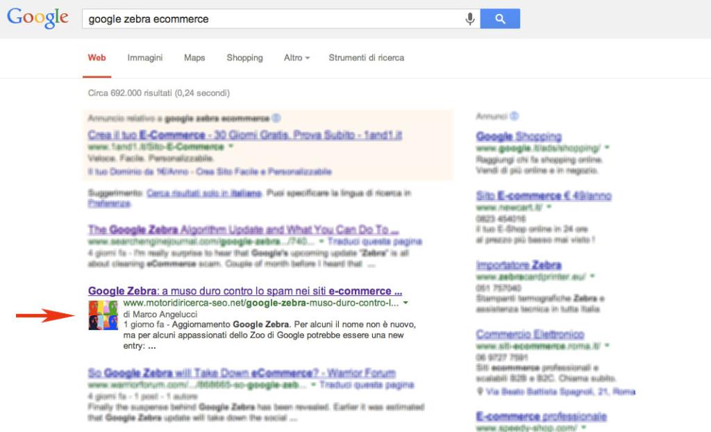 Impatto di Google+ sulle SERP