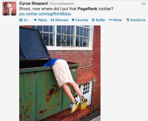 Dove avevo messo la mia Toolbar PageRank ?