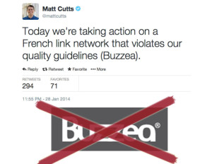 Matt Cutts su Buzzea