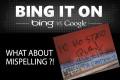 Bing e gli errori di grammatica