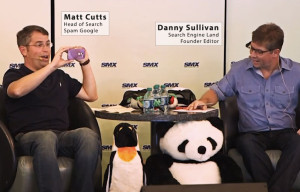 Matt Cutts e Danny Sullivan