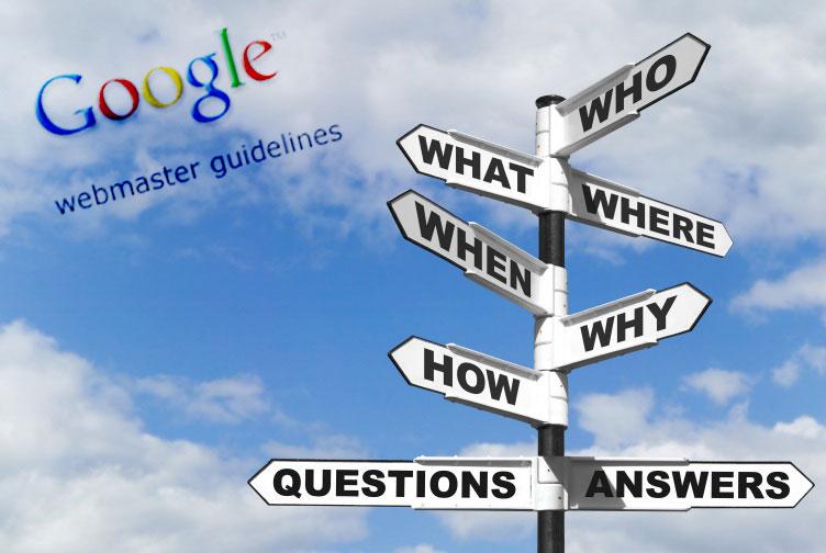 Aggiornamento delle Google Webmaster Guidelines
